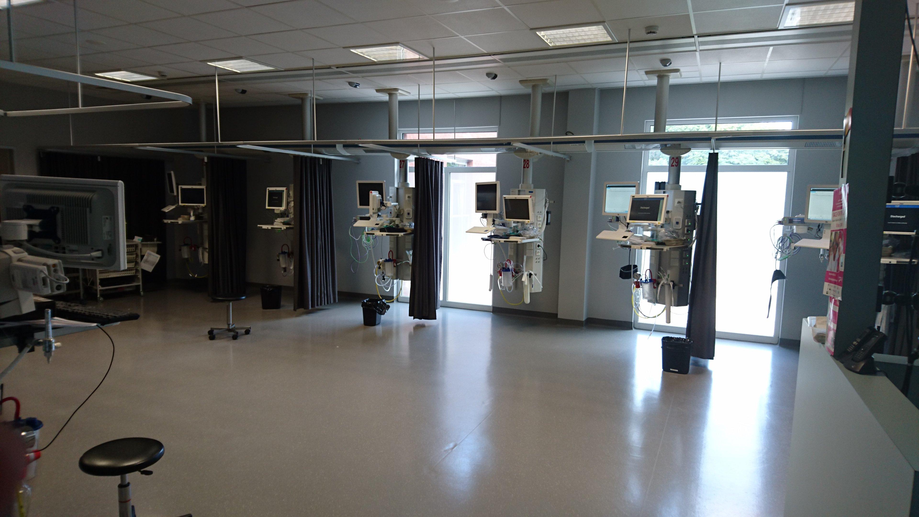 Cliniques de l'Europe - Salle de réveil - Dr Joe Hellers - Chirurgie Plastique et Esthétique, Bruxelles, Uccle